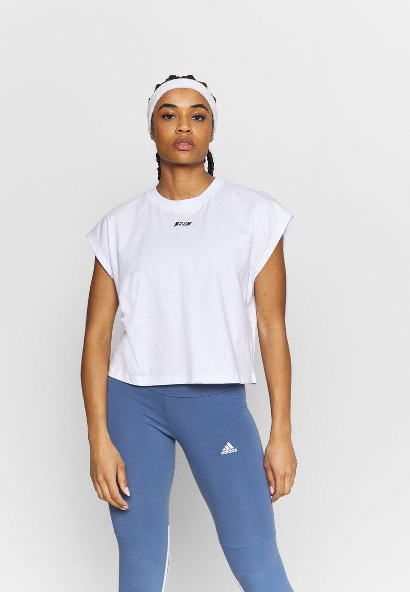 MSGM - Basic T-shirt - white