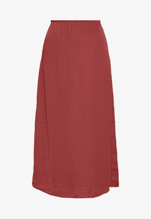CHASE MIDI SKIRT - Pencil skirt - rust