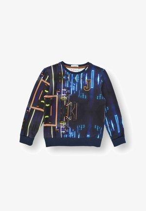 Sweater - neon lights