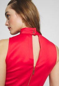 Closet - COLLAR FULL SKIRT DRESS - Vestito elegante - red - 5
