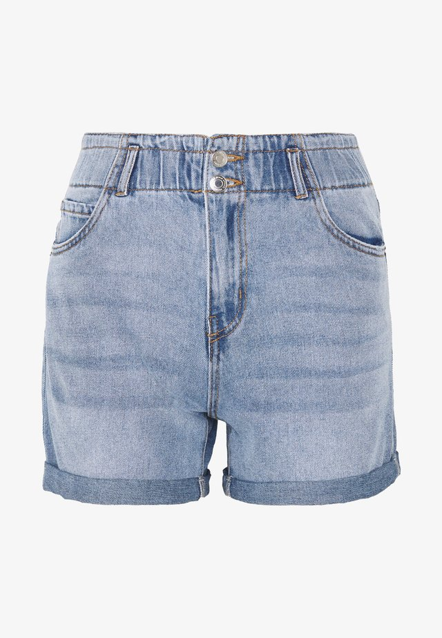 VMJOANA  - Denim shorts - medium blue denim