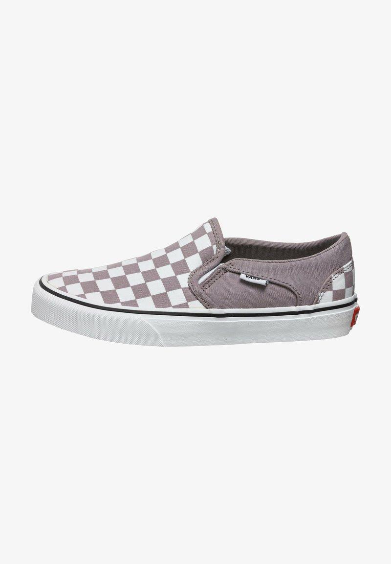 Vans - ASHER - Slip-ons -  purple dove white
