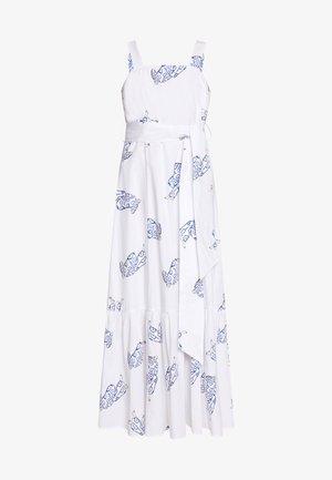 STRAP DRESS MAXI - Vestito estivo - bright white