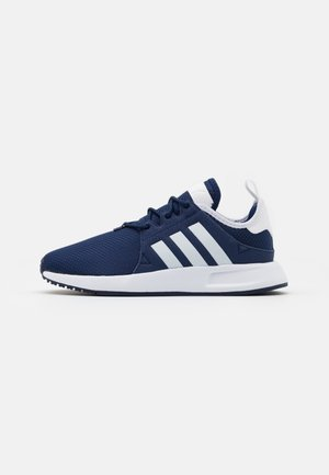X_PLR UNISEX - Sneaker low - dark blue/footwear white/core black