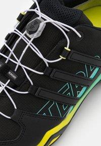 adidas Performance - TERREX SWIFT R2 GTX - Hiking shoes - core black/acid mint - 5