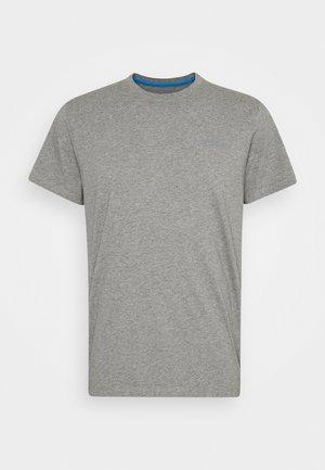 ALVARO UNISEX - Print T-shirt - grey marl