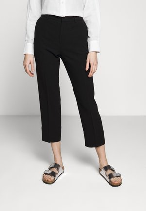 REGINA TROUSER - Trousers - black