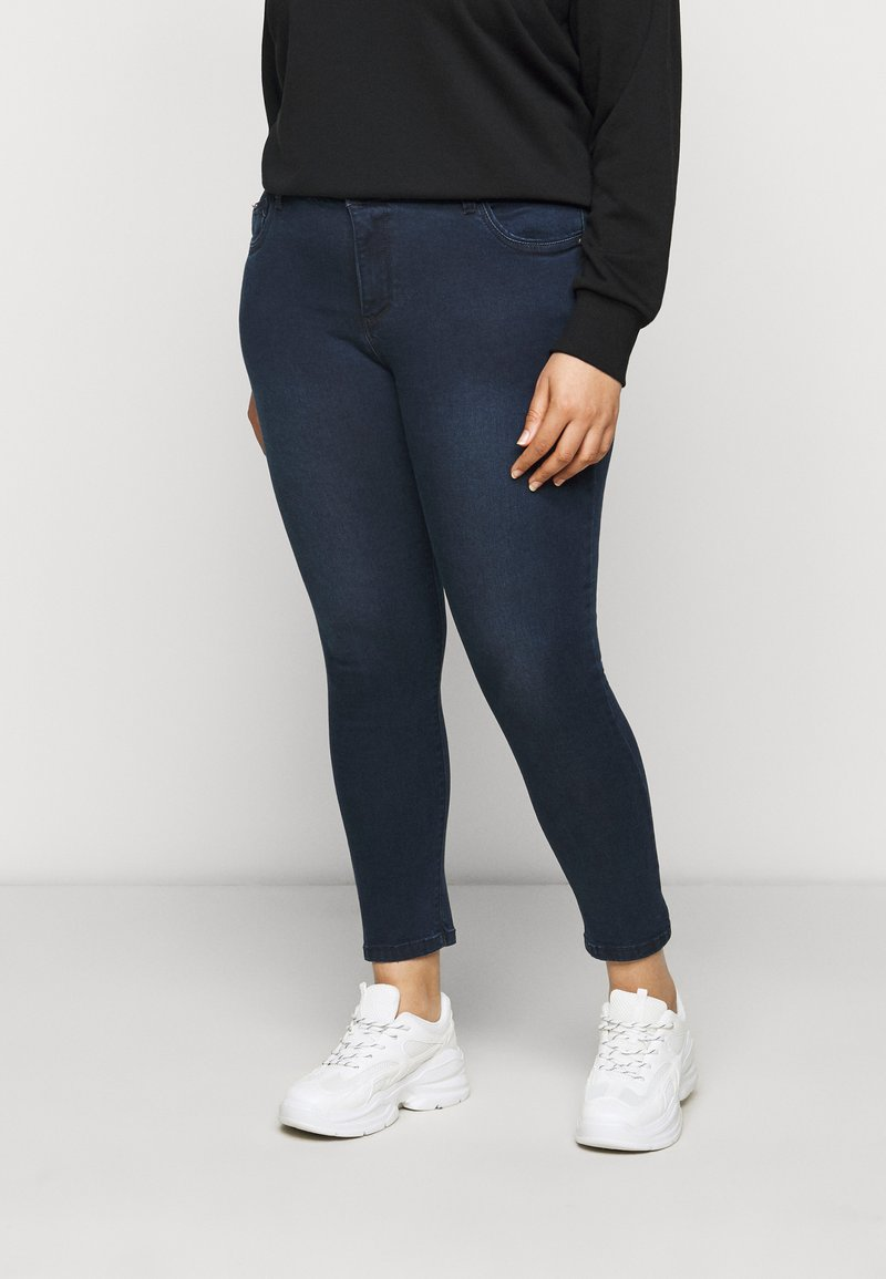 CAPSULE by Simply Be - SHAPE AND SCULPT - Jeans Skinny Fit - indigo