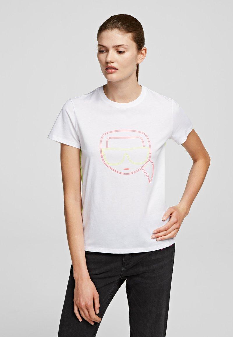 KARL LAGERFELD - T-Shirt print - White