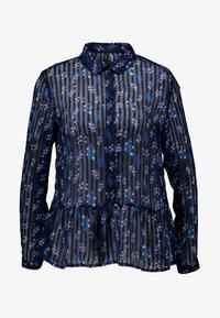 YAS - YASRICHA - Button-down blouse - navy blazer - 4