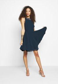 Lace & Beads Petite - AMANDA DRESS - Cocktail dress / Party dress - navy - 1