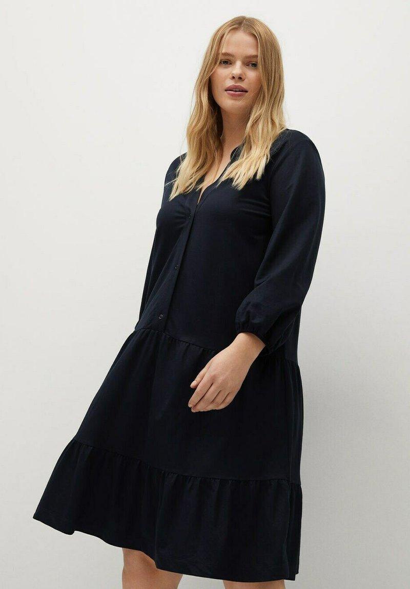 Violeta by Mango - Day dress - dunkles marineblau