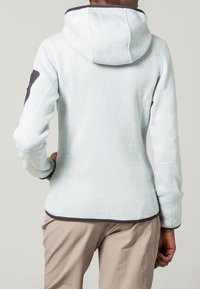 CMP - WOMAN FIX HOOD JACKET - Giacca in pile - metal/bianco - 3