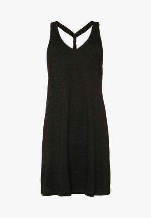 FELINE - Sukienka z dżerseju - true black