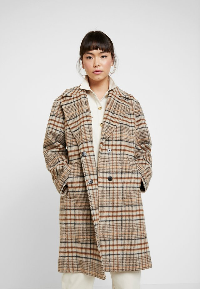 MARA DRAWN COCOON CHECK - Manteau classique - multicolour