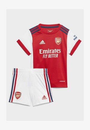 FC ARSENAL  SET - Sports shorts - white  red