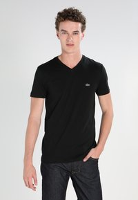 Lacoste - T-shirt basic - black - 0