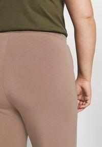 Pieces Curve - PCRISE WIDE PANT LOUNGE - Tracksuit bottoms - dark grey - 5