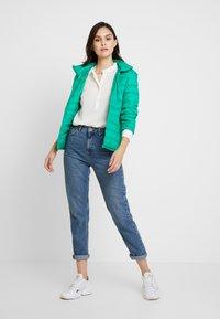 Benetton - HOODED JACKET - Down jacket - bright green - 1