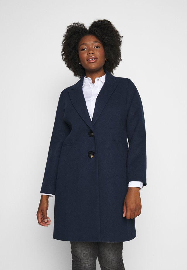 SINGLE BREASTED COAT - Manteau classique - navy
