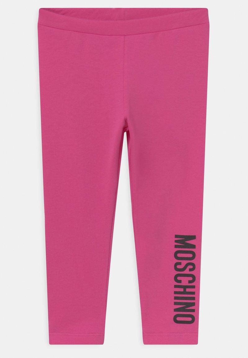 MOSCHINO - Leggings - Trousers - fuxia