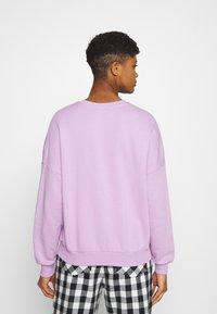 Even&Odd - Printed Crew Neck Sweatshirt - Sweatshirt - lilac - 2