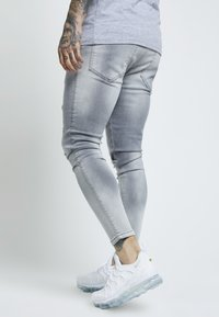 SIKSILK - DISTRESSED SUPER - Jeans Skinny Fit - washed grey - 2