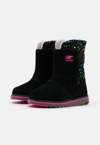 Sorel - YOUTH RYLEE STARS - Snowboots  - black - 1