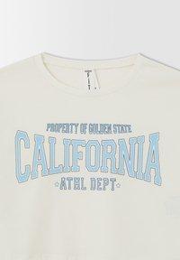 DeFacto - CROPPED FIT - Print T-shirt - blue - 5