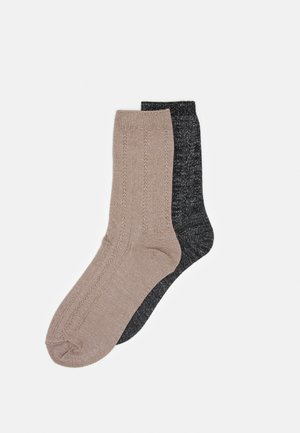 MIX SOCK 2 PACK - Ponožky - black