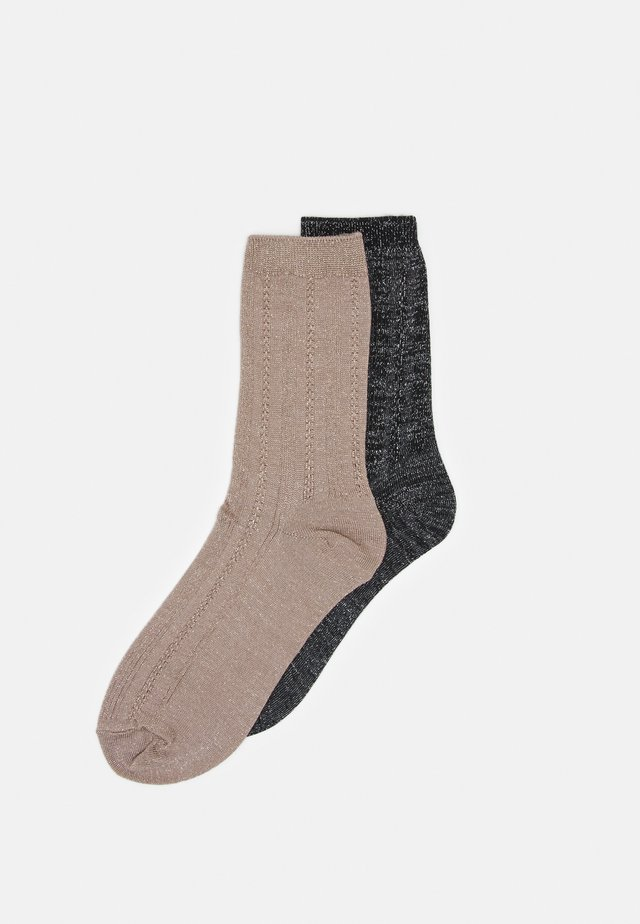 MIX SOCK 2 PACK - Sokken - black
