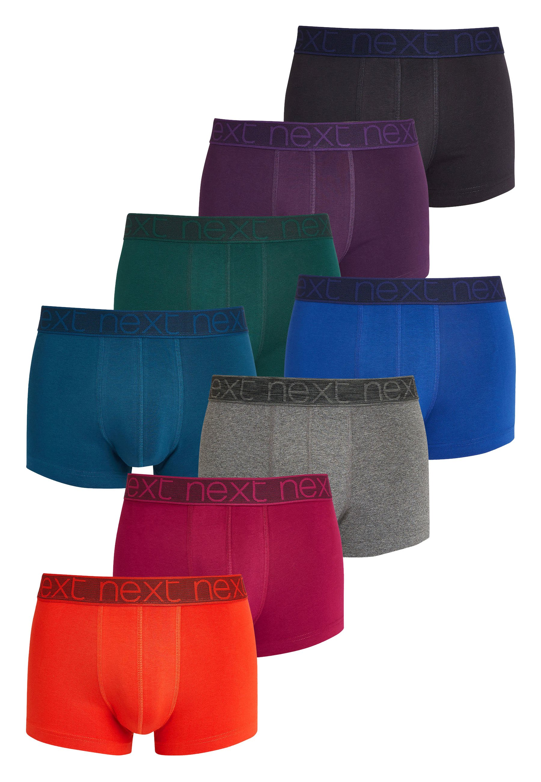 Uomo HIPSTERS 8 PACK - Culotte