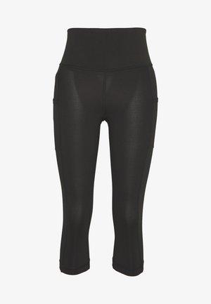 PACK OUT CROPS - Pantalon 3/4 de sport - black