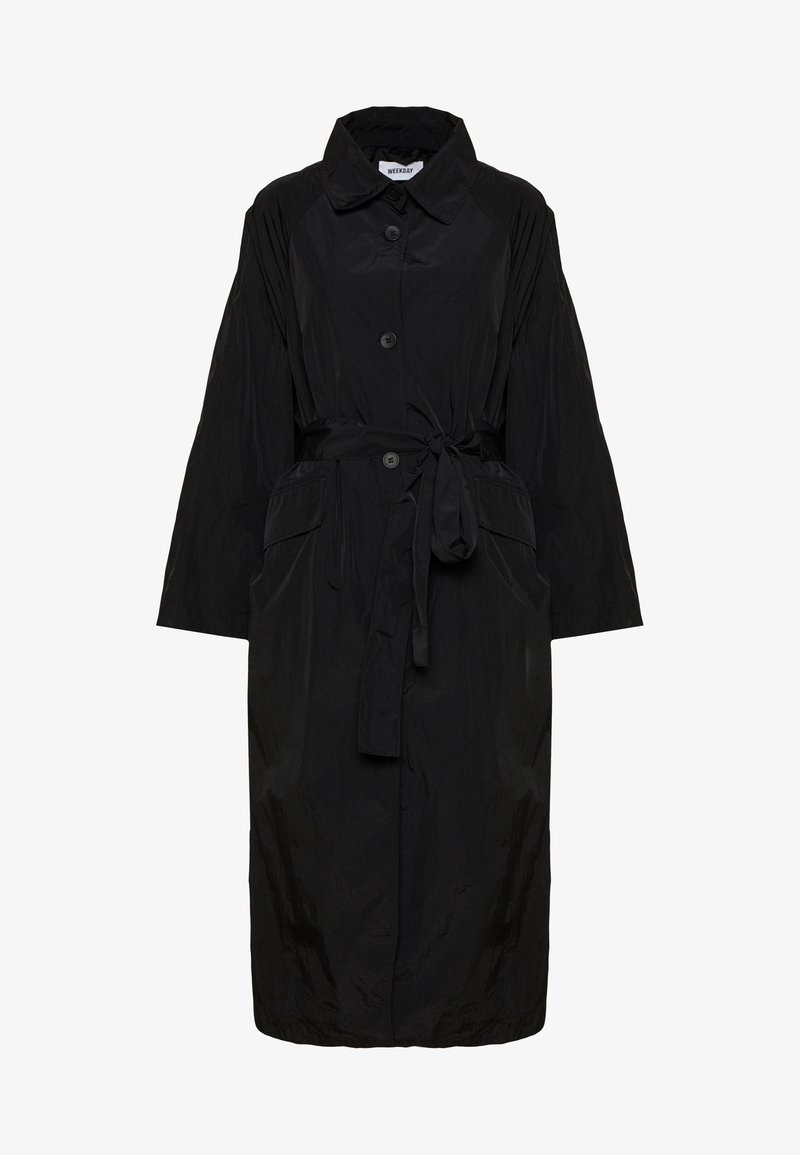 Weekday - SIENNA - Trenchcoat - black