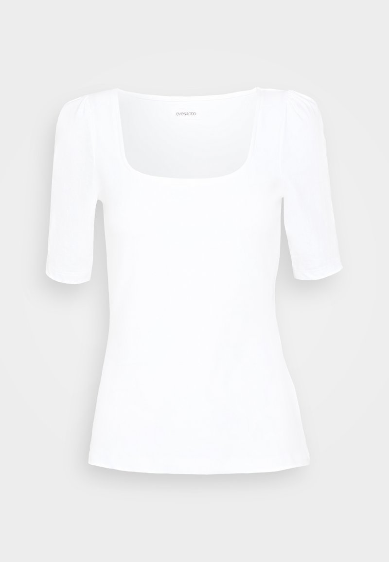 Even&Odd T-Shirt basic - black/schwarz 1eQmX0