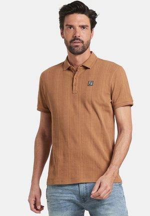 THIAS POLO - Polo shirt - brown