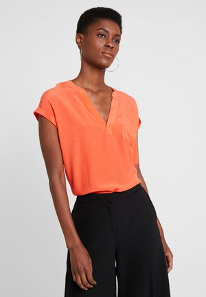 Blouse - sunset orange