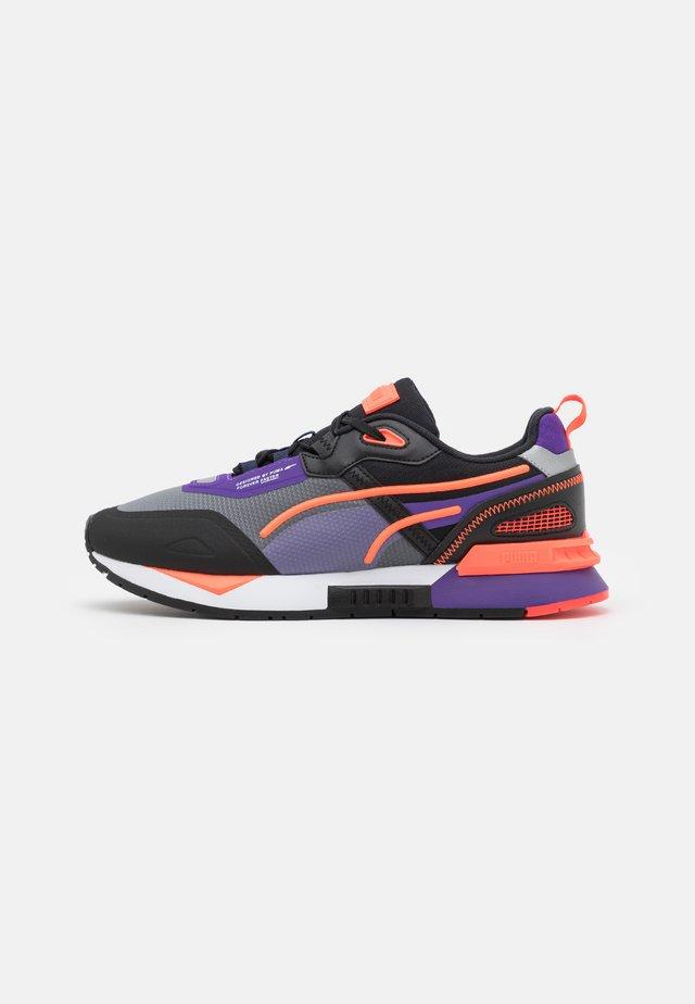 MIRAGE MOX TECH VEGAN UNISEX - Sneakersy niskie - black/prism violet