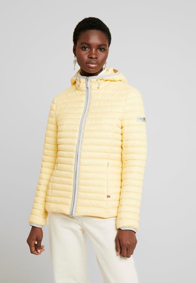 Overgangsjakker - yellow