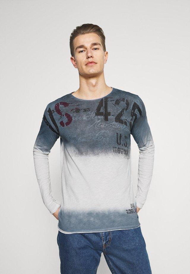 CHALLENGER ROUND - Maglietta a manica lunga - derby blue