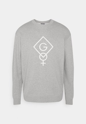 WOMENS DAY C NECK  - Sweatshirt - grey melange