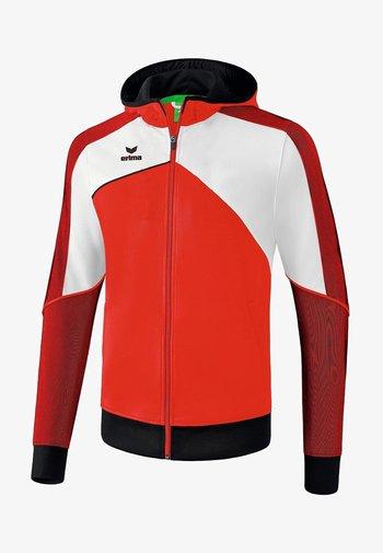 PREMIUM ONE 2.0 TRAININGSKAPUZENJACKE KINDER - Training jacket - red / white / black