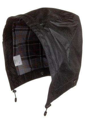 CLASSIC WAXED COTTON HOOD - Hat - black