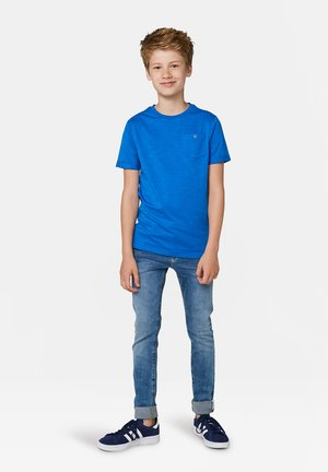 WE FASHION JONGENS T-SHIRT - Basic T-shirt - blue