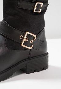 H.I.S - Cowboy/biker ankle boot - black - 2