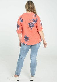 Paprika - Button-down blouse - coral - 2