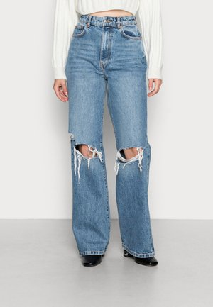IDUN WIDE - Jeans relaxed fit - skyline blue