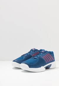 K-SWISS - EXPRESS LIGHT CARPET - Carpet court tennis shoes - dark blue/white/bittersweet - 2