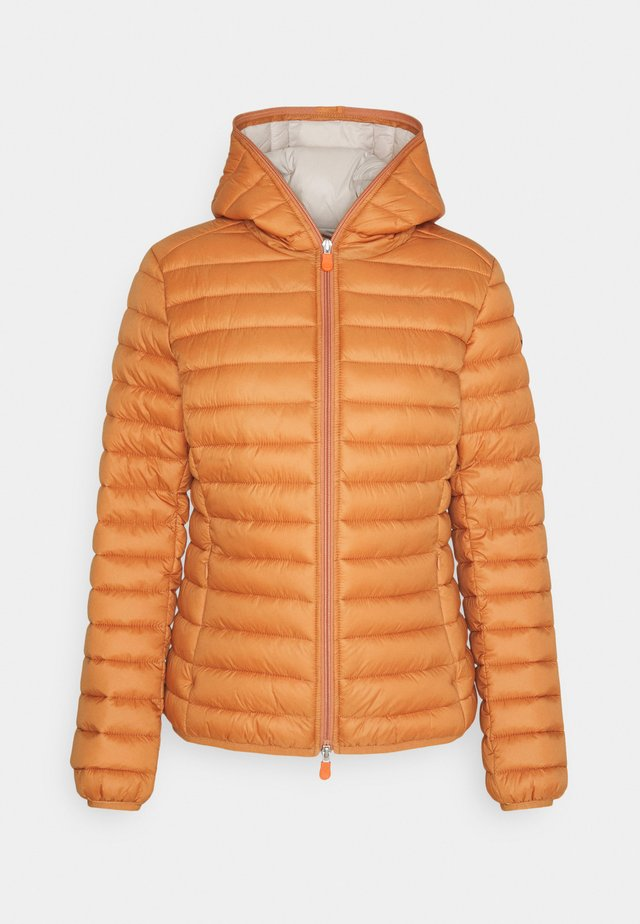 IRIS ALEXIS HOODED JACKET - Jas - sunset orange