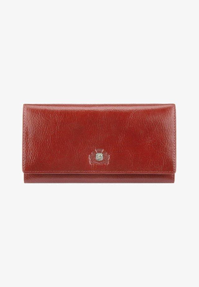 Wallet - ziegelrot